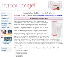 Hersolution Gel